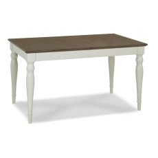 Hampstead Soft Grey & Walnut 6-8 Extension Table - Rectangular