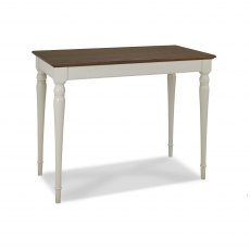 Hampstead Soft Grey & Walnut Bar Table